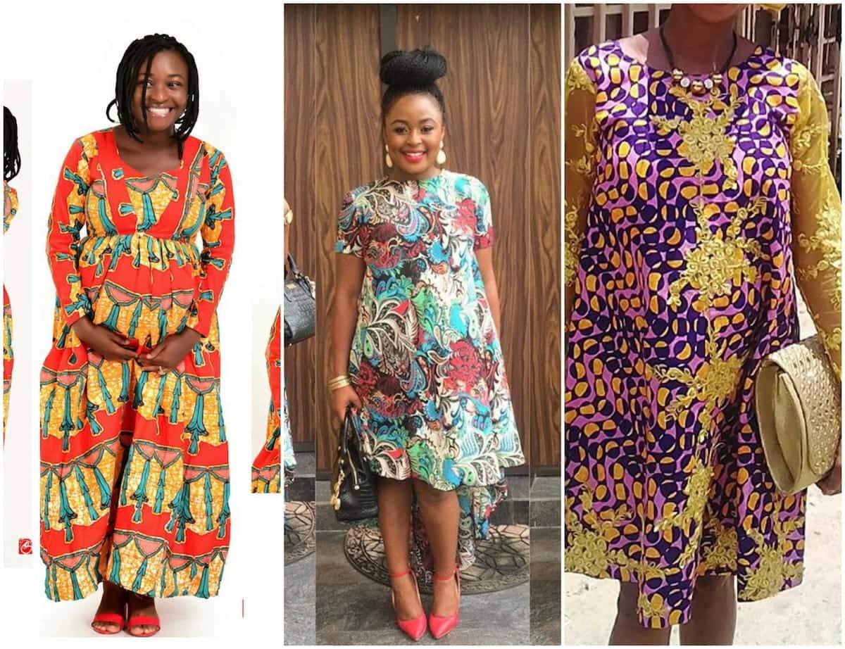 Nice Formal African Print Dresses Styles Tuko.co.ke