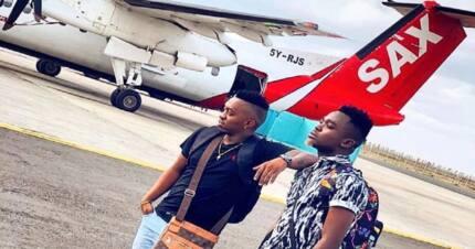 Bongo sensation Aslay left stranded at Eldoret airport ahead of his Lodwar show