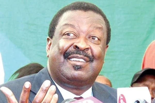 Mudavadi sharply differs with Raila on call for fresh election in August 2018