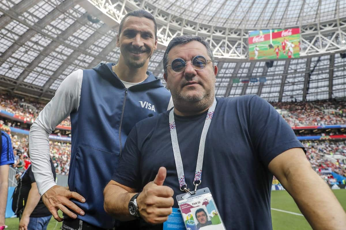Paul Pogba's agent Mino Raiola finally speaks out concerning his future at United