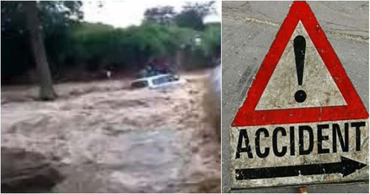 Another accident claims 7 lives after a Probox was swept away by flood in Kanangop