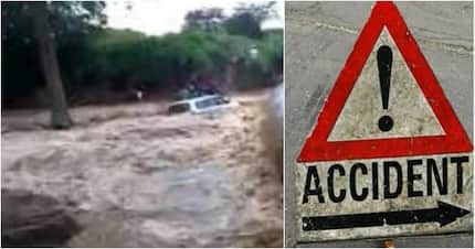 Another accident claims 7 lives after a Probox was swept away by flood in Kinangop