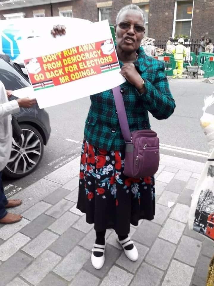 Raila and Uhuru supporters clash in London