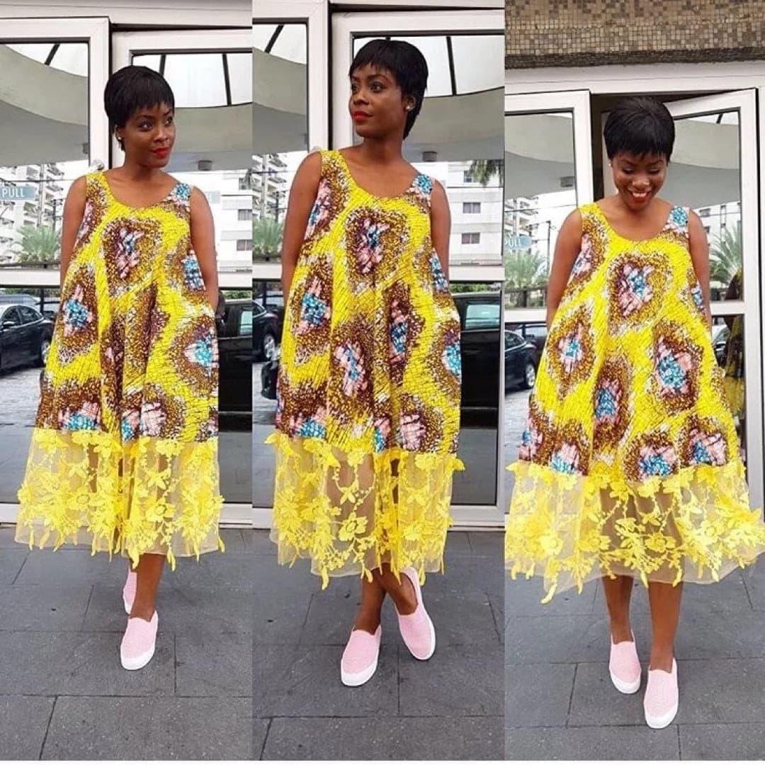 Trendy ankara styles for ladies