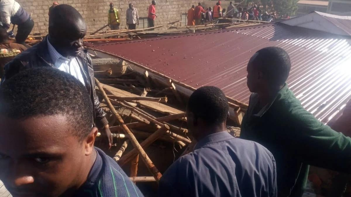 Several trapped as residential building collapses in Kisii