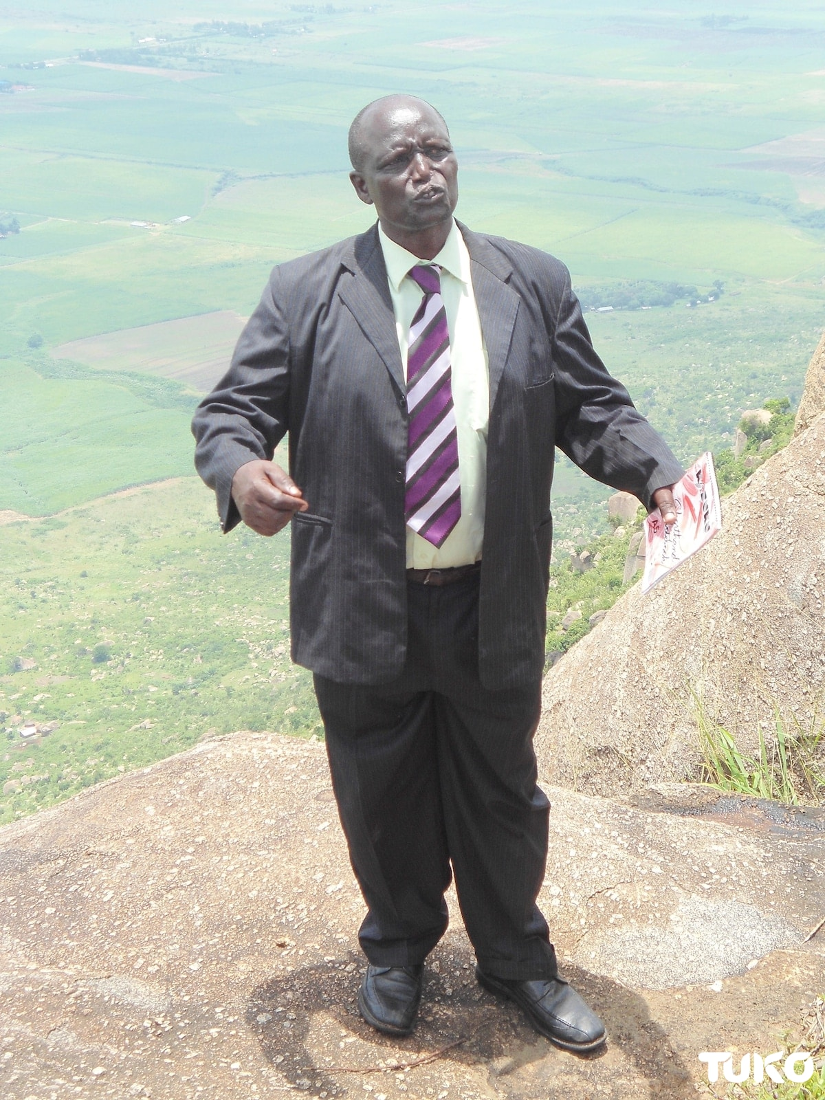 The sacred Nandi county cliff where the aged willingly jump to their death
