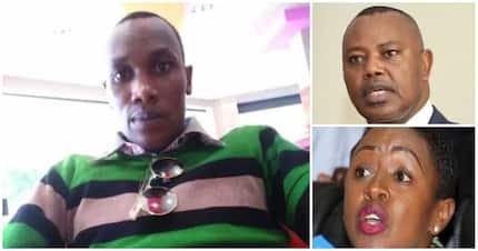 Sabina Chege is simply fixing me - man who claims to have slept with 13 female MPs
