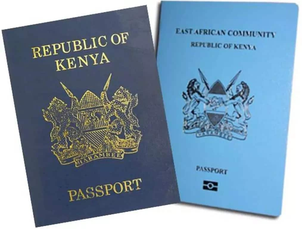 New e passport Kenya The old and the new Kenyan passport