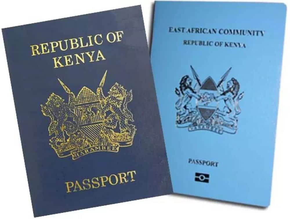 New e passport Kenya The old and the new Kenyan passport