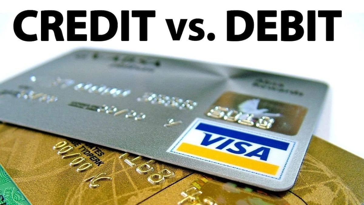 Debit vs credit card difference