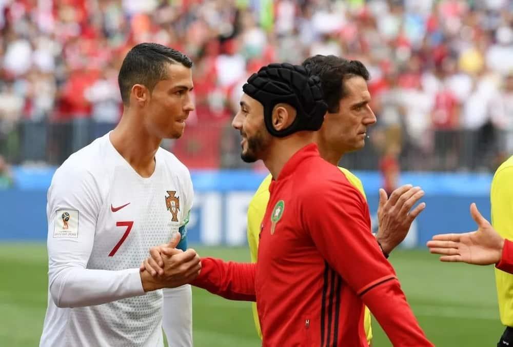 Morocco's Nordin Amrabat slams referee Mark Geiger for allegedly asking for Ronaldo's shirt