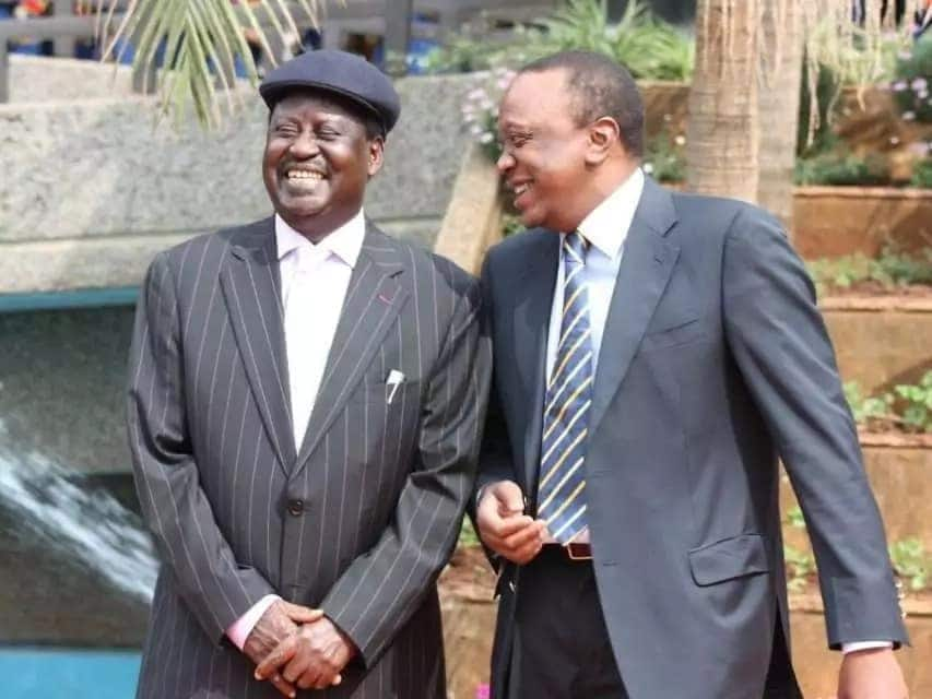 Raila lied he tried calling Kalonzo moments before famous handshake - Moses Wetangula