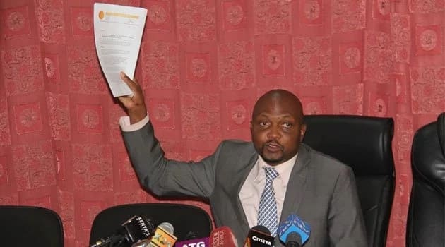Moses Kuria vows to ensure Raila'a brother does not get EALA post