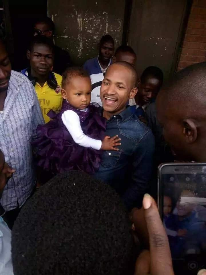 Embakasi East MP Babu Owino seeks divine intervention and it's the most hilarious thing you will see today