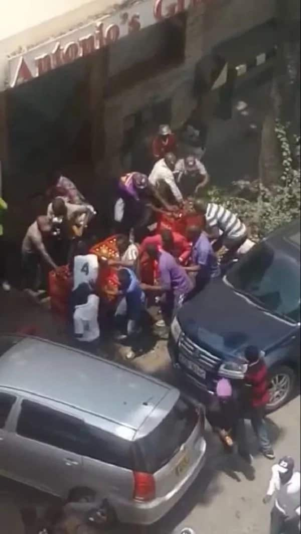 Mike Sonko speaks after NASA protesters looted shops and damaged vehicles in Nairobi