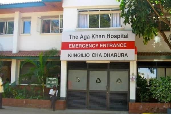 Aga Khan Hospital.