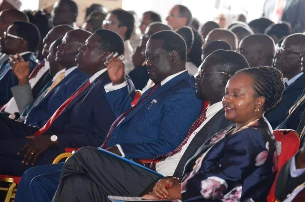 Raila preaches unity in address to Governors, calls for constitutional review
