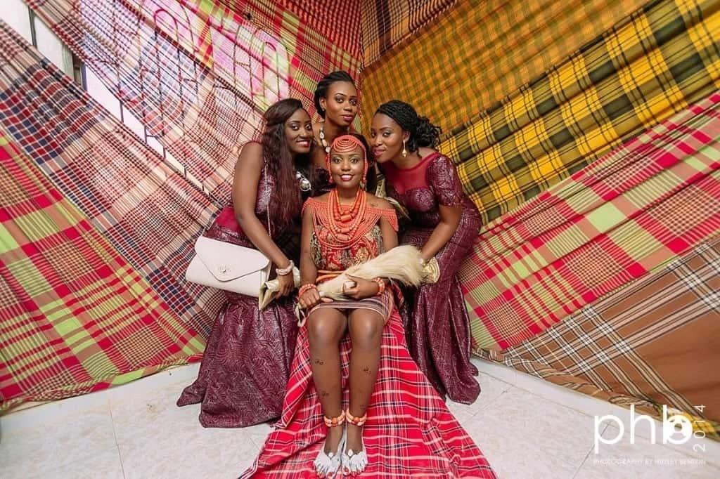 Nigerian traditional wedding attire for bride Traditional attire for Nigerian wedding Nigerian traditional wedding attire