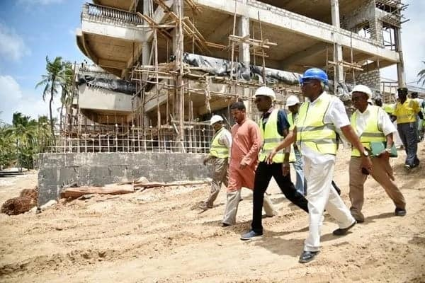William Ruto linked to beach hotel encroaching on wetland in Mombasa