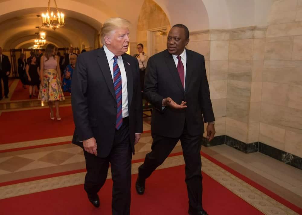 Covid-19: Trump azungumza na Uhuru, aahidi kuisaidia Kenya