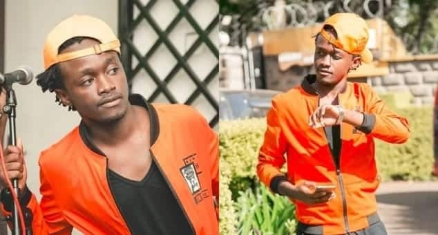 Singer Bahati posts lovely photo with wife but fans think she is too old for him