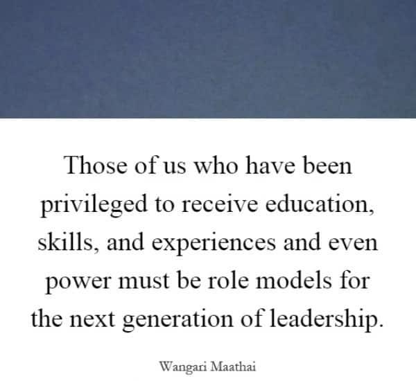 Quotes wangari maathai, Famous wangari maathai quotes, Prof wangari maathai quotes