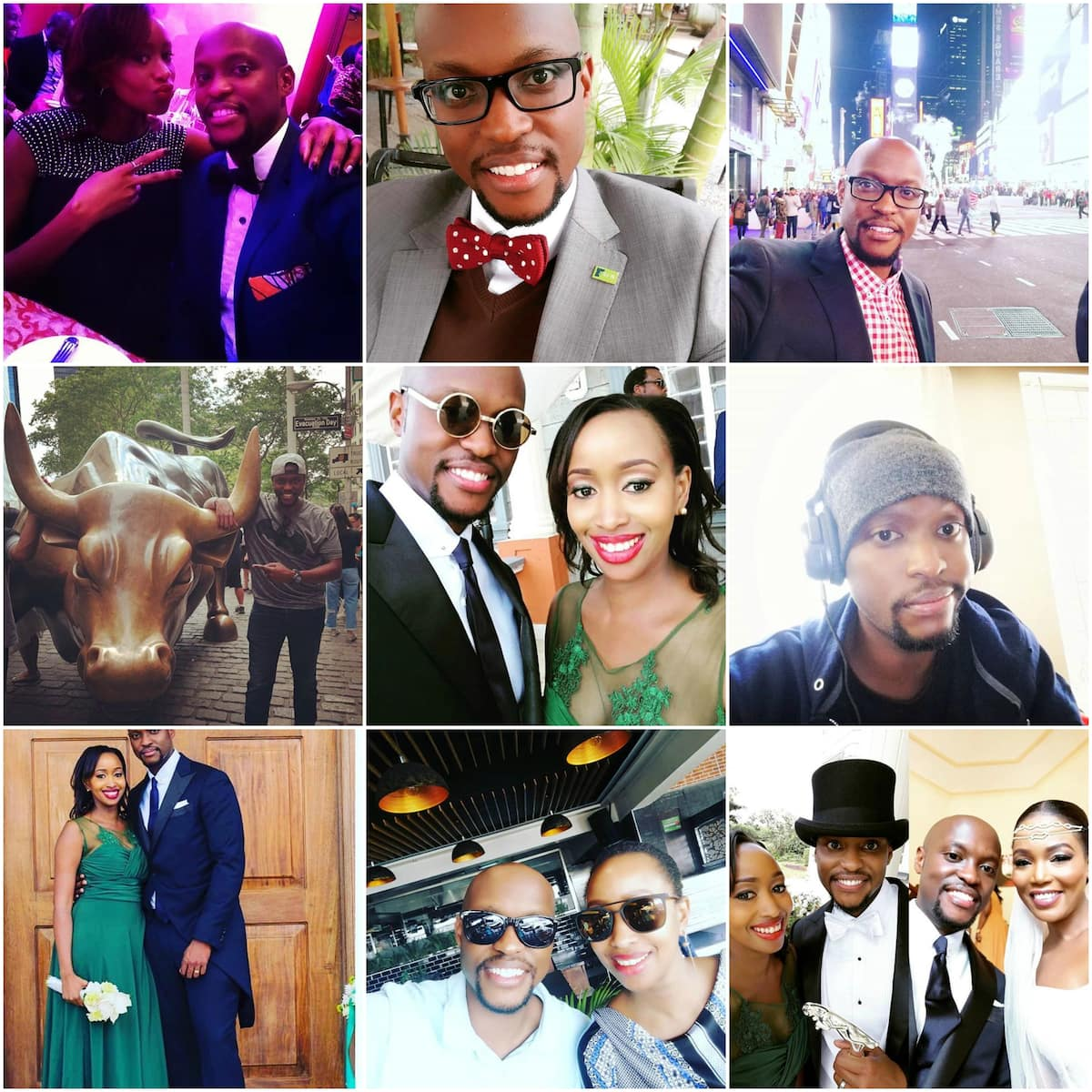 photos of Janet Mbugua and husband