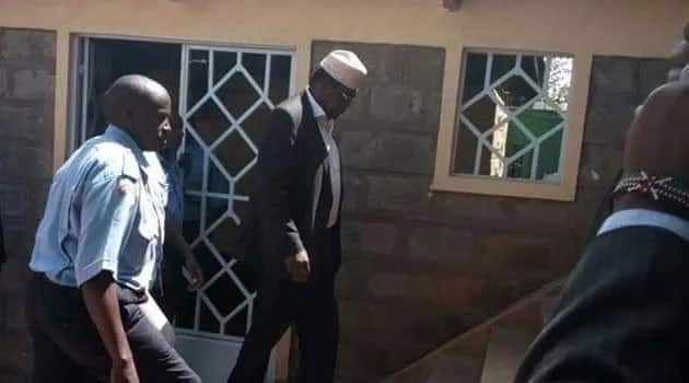 I am fearless, it does not matter what they do - Miguna Miguna outside Kajiado court