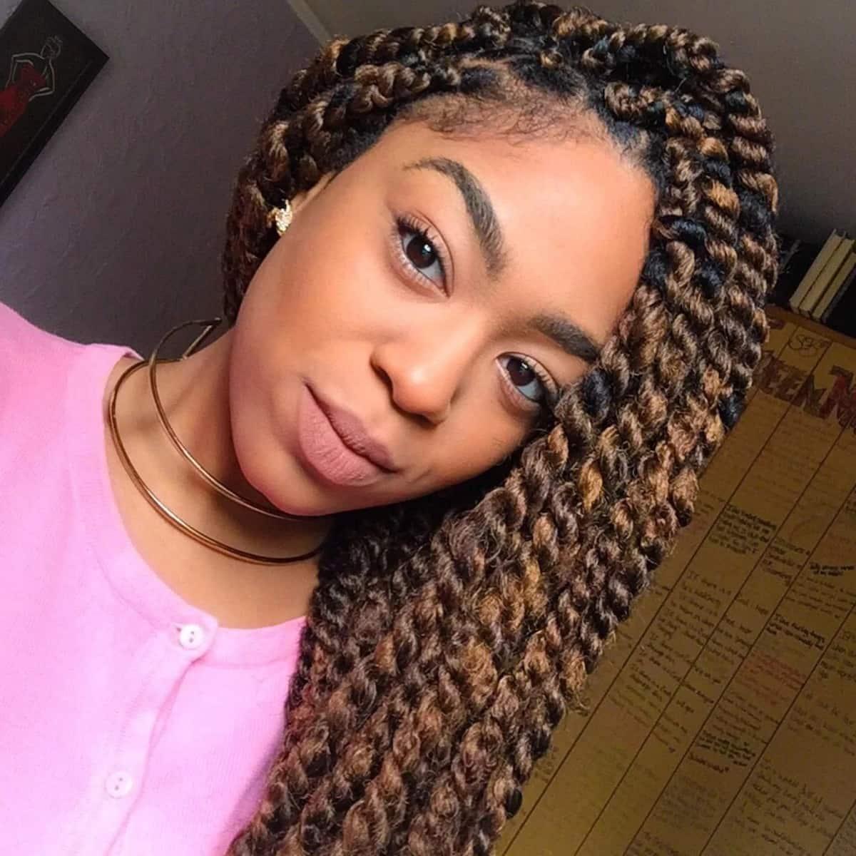 How to twist Afro kinky hair