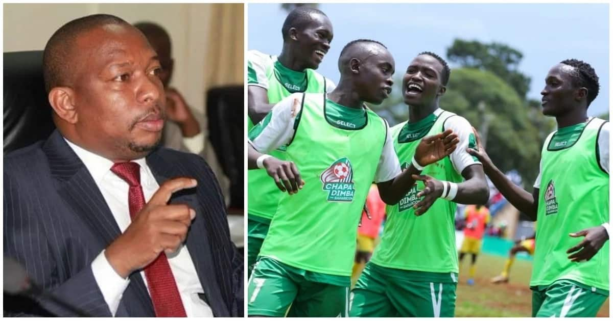 Governor Mike Sonko offered to sponsor the Kenya Premier League champions to South Africa for a match with SuperSport United.
