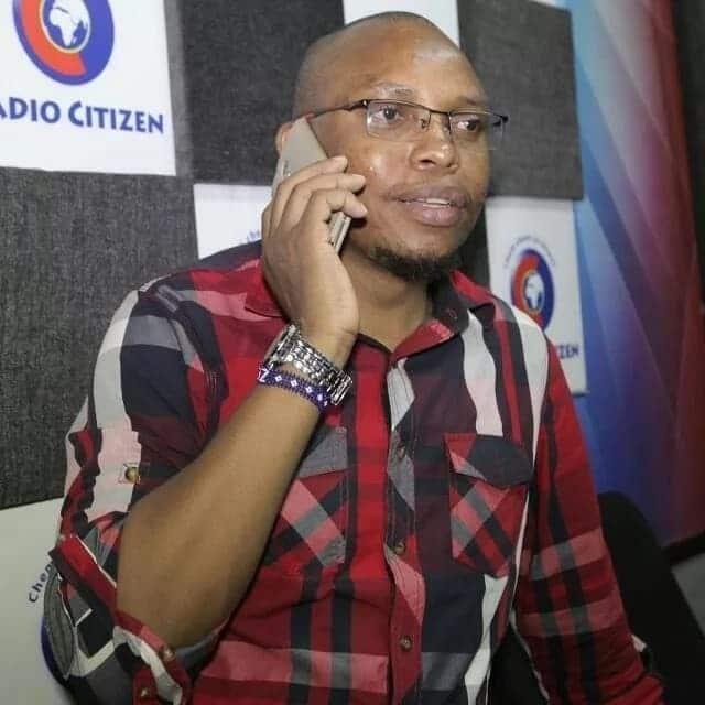 Kaka Zema of radio Citizen,  Kaka zema photos Citizen radio kaka zema