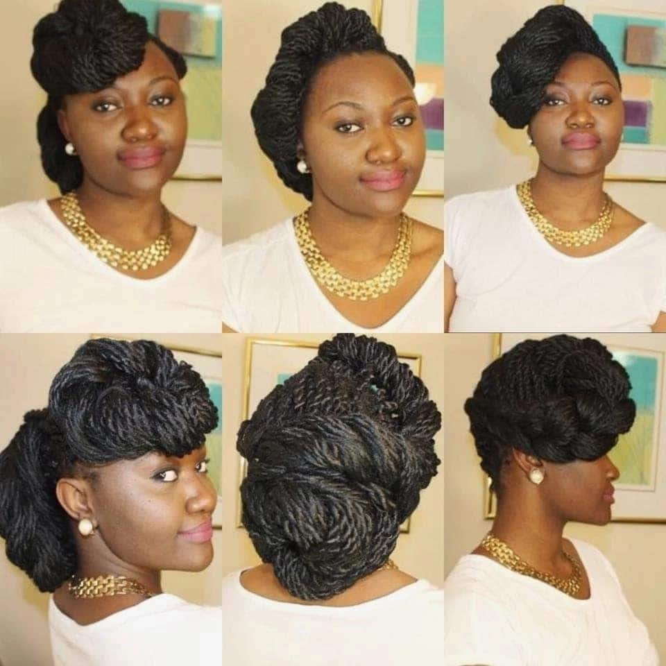 30 gorgeous twist hairstyles for natural hair hair twist extensions styles marley twist mohawk kinky twist natural hair
