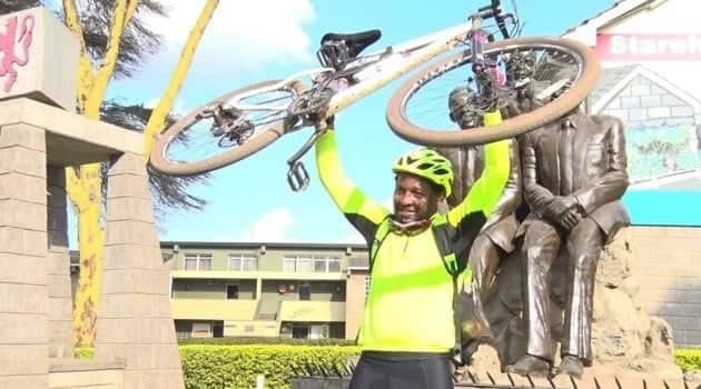 Ex-Starehe student surprises many by cycling 500km, raises over KSh 2m for the school