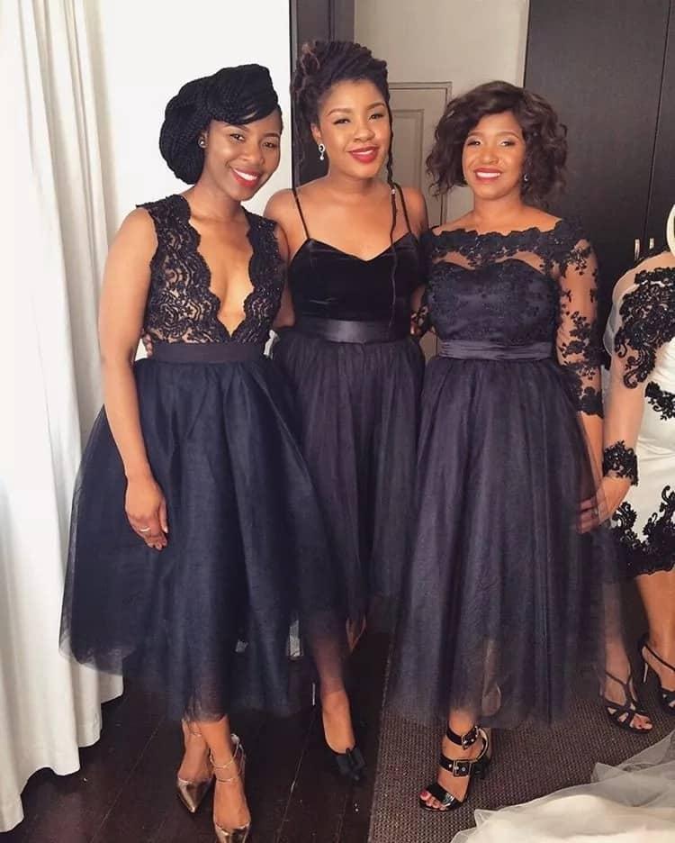 African Bridesmaid Dresses Hottest Trends In 2018 Tuko Co Ke