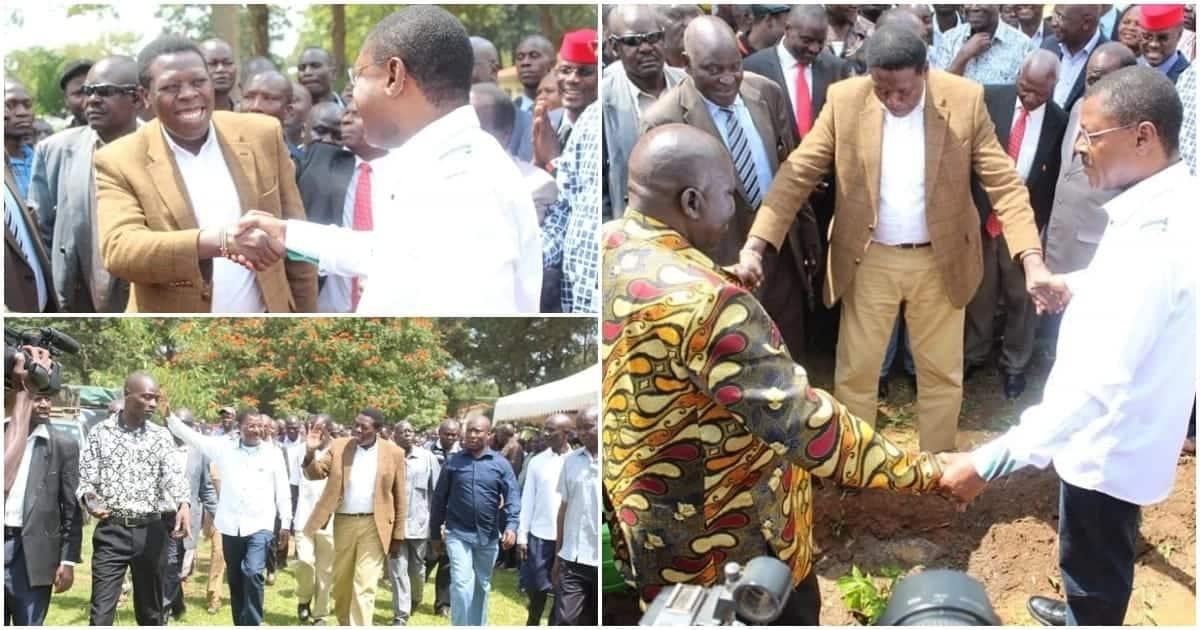 Raila is a party wrecker Jubilee should be wary of - Wetang'ula