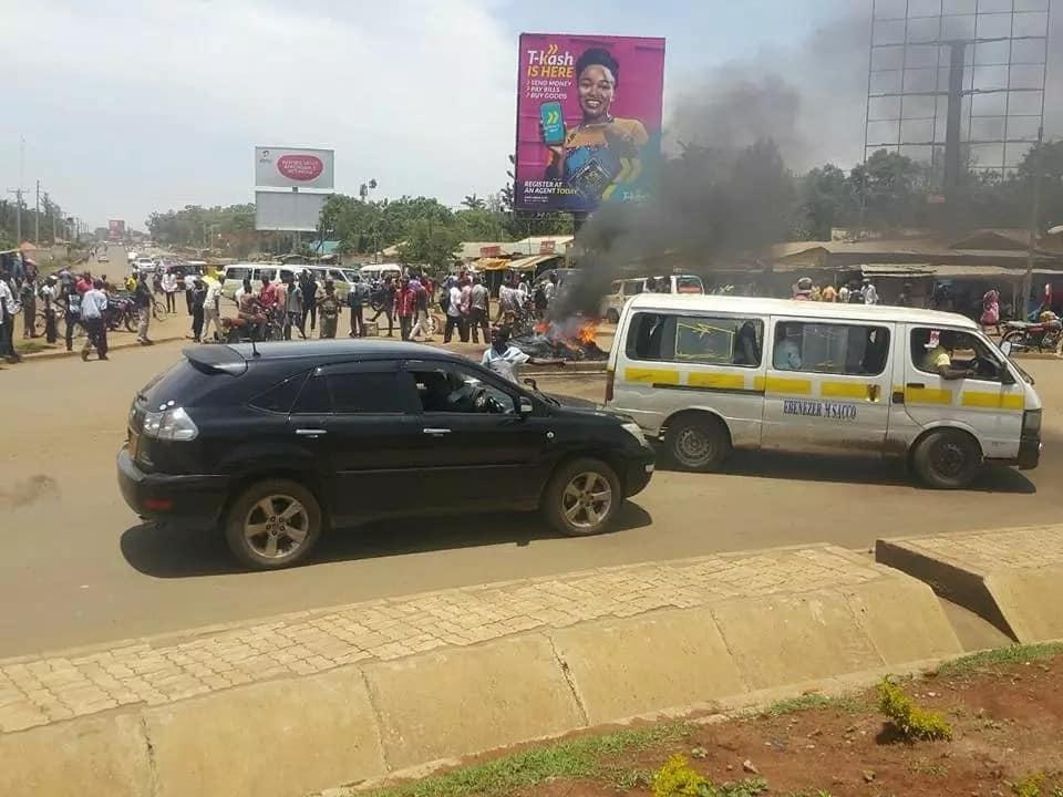 Protests in Kisumu over Miguna Miguna's prolonged detention