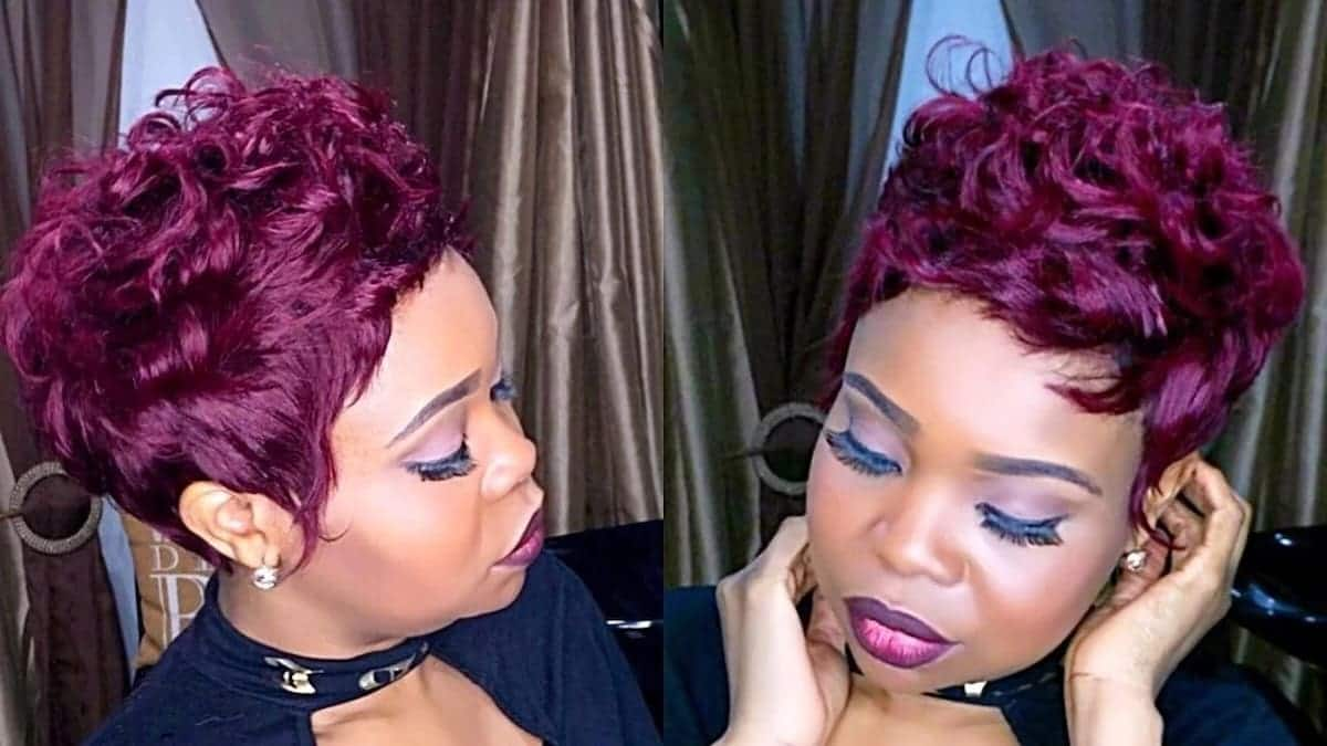 Best Short Weave Hairstyles In Kenya Tuko.co.ke