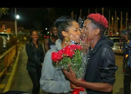 Mashabiki wa Eric Omondi wamshambulia kwa kuwa na nguo nyingi kumshinda mkewe