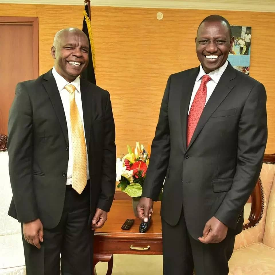 Governor Kivutha Kibwana meets DP William Ruto at his offices in Nairobi.