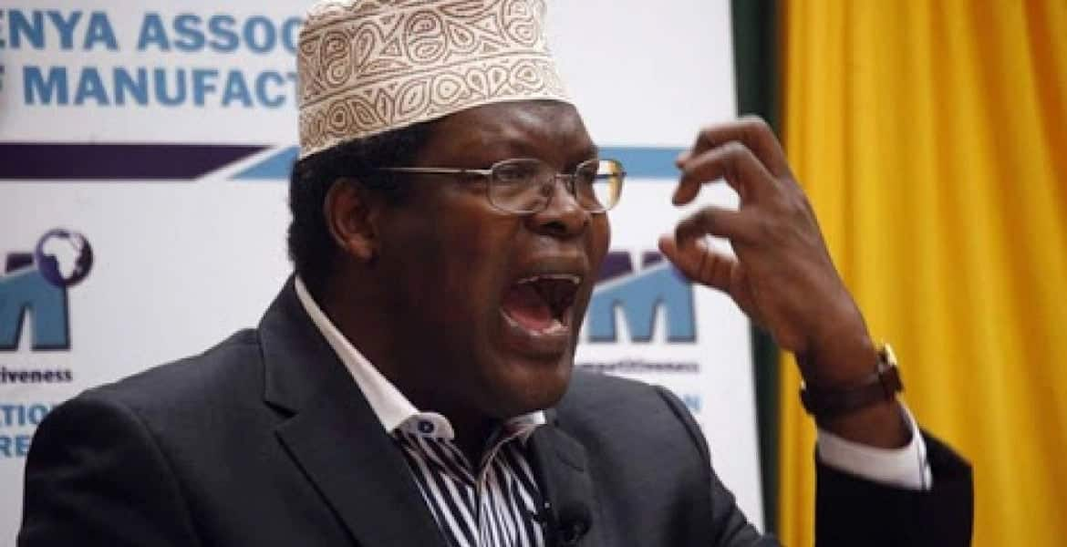 We will win on earth, in heaven and even in hell - Miguna psyches supporters