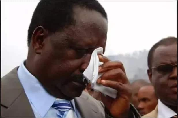 Raila Odinga's touching tribute to the late Janet Kanini Ikua
