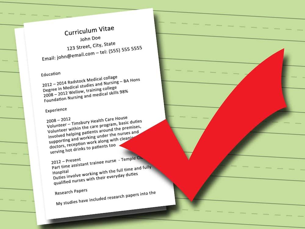 How To Write A Good CV For Job Tukocoke
