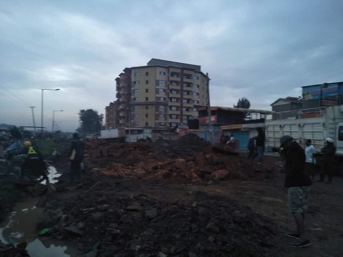 Mwiki- Kasarani road to be fixed following operators outrage