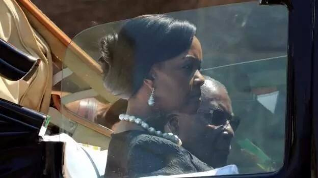 First Lady Grace pictured with President Robert Mugabe. Photo: Reuters