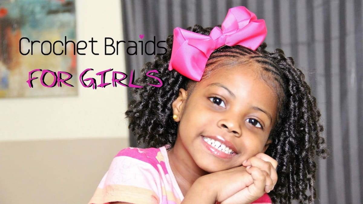 Crochet braids for little girls