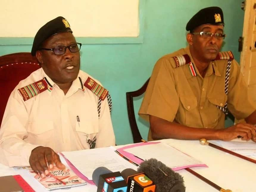 Police in Kisumu receive bodybags ahead of election