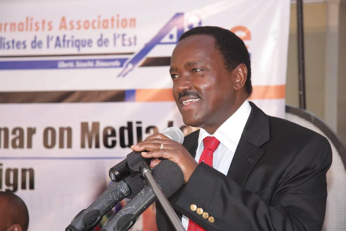 Kalonzo sues govt for withdrawing his security and firearm