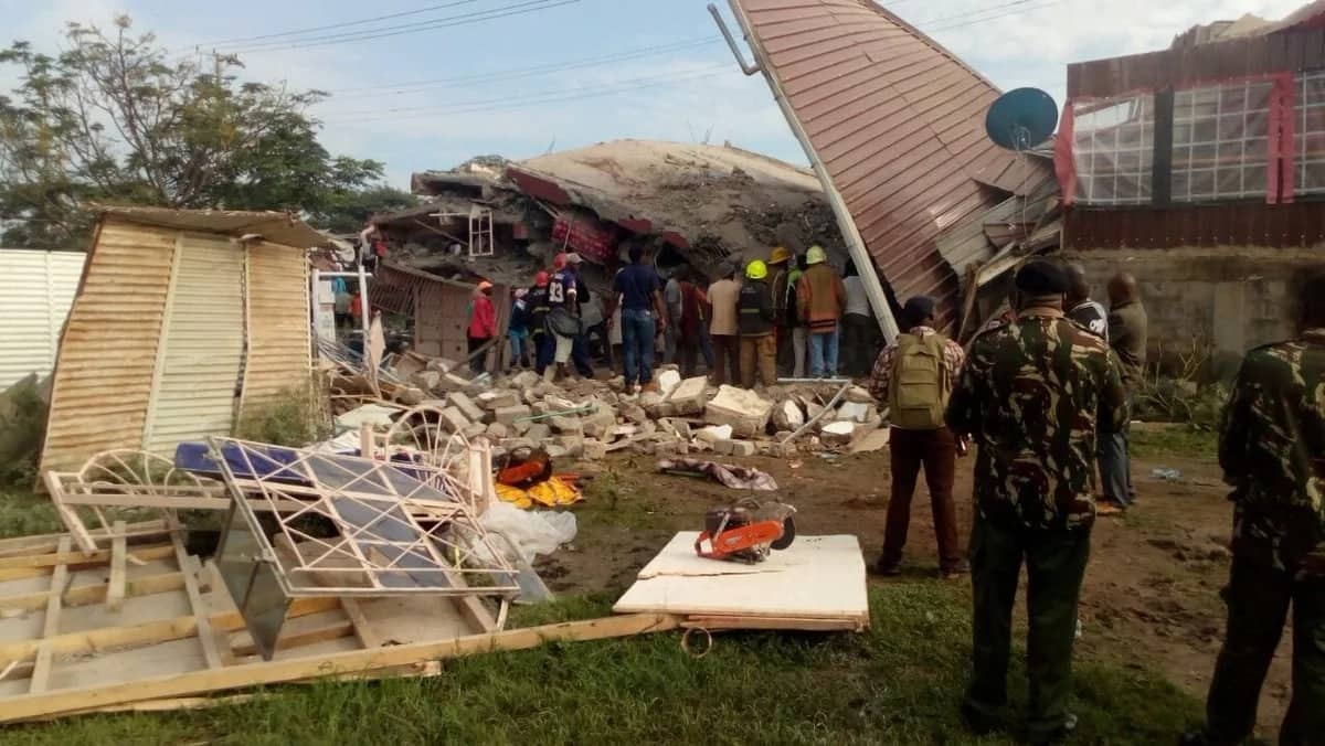 Building collapses in Ruai near Eastern bypass, several people trapped