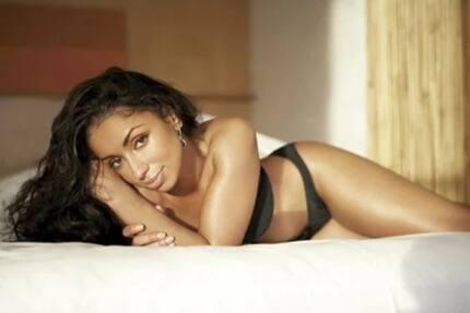 American R&B beauty Mya touches down at JKIA (photos)