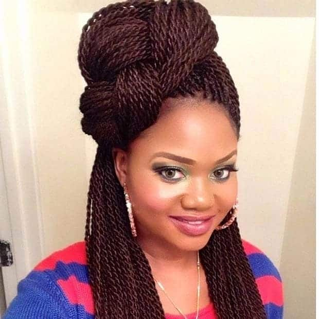 Latest Senegalese Twist Hairstyles Tuko Co Ke
